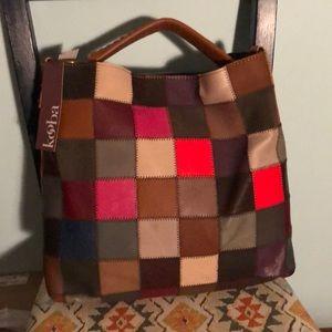 NWT Kooba Patchwork Bag